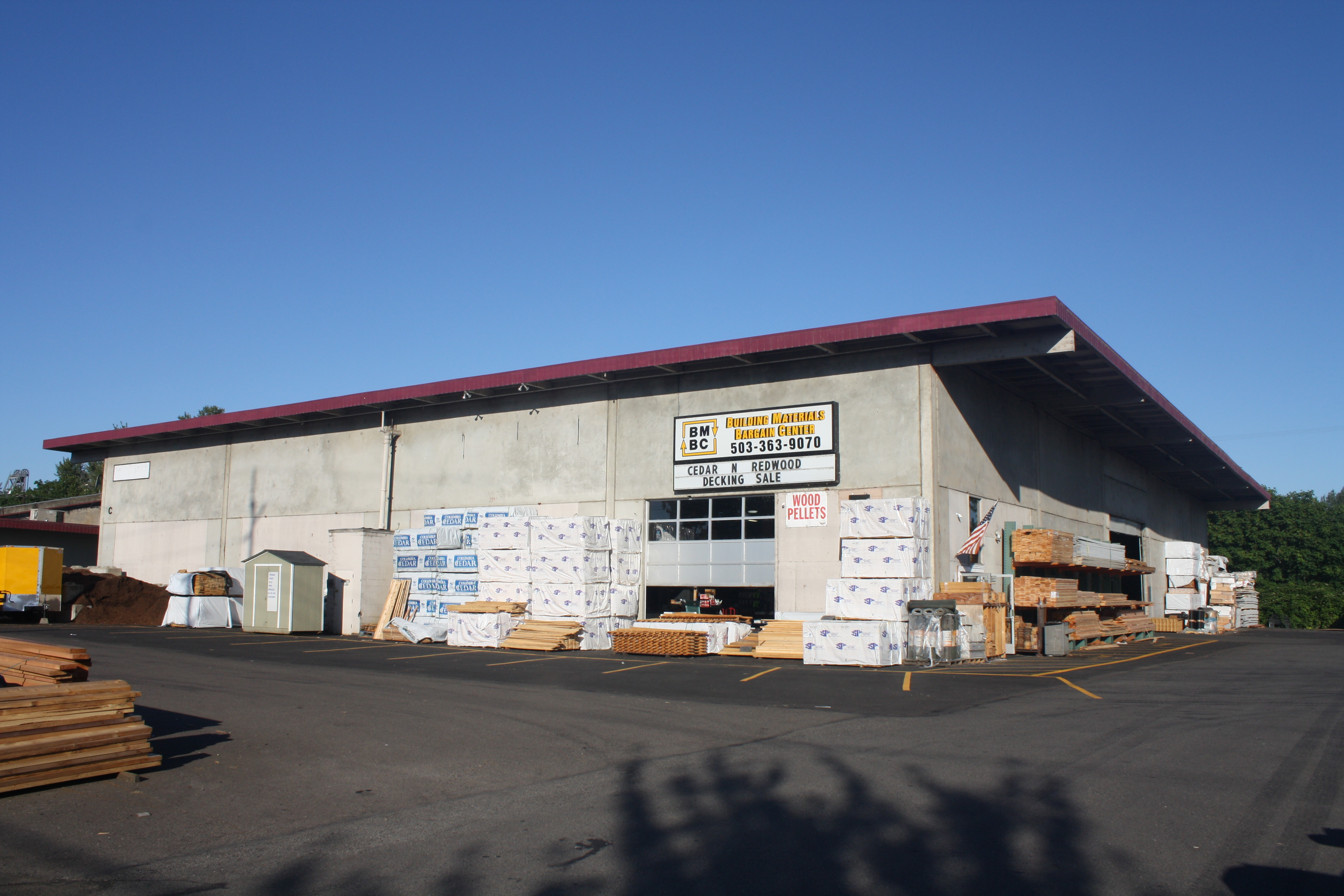 About Us Building Materials Bargain Center