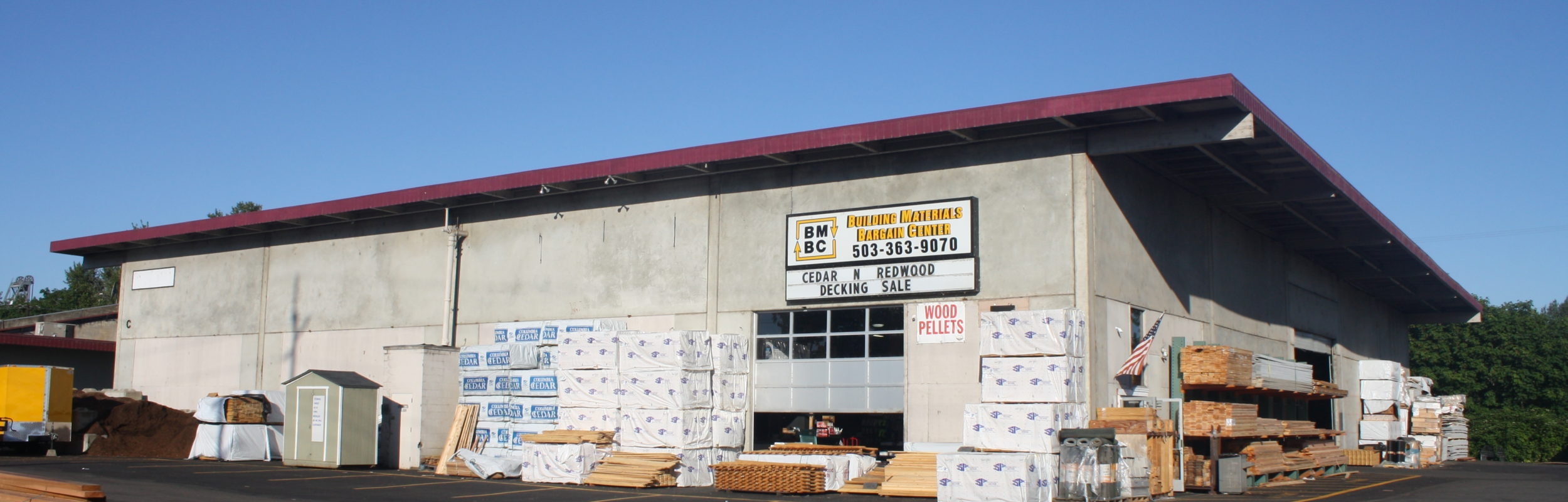Building Materials Bargain Center Salem Oregon